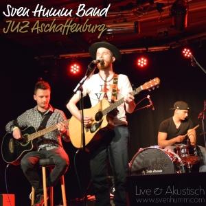 Sven Humm Band - Live und akustisch im JUZ Aschaffenburg_CD Cover